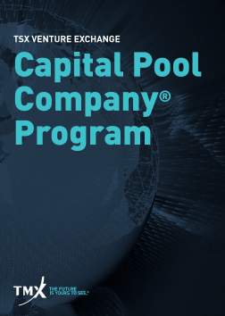 Capital Pool Company® Program