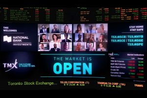 National Bank Investments Virtually Opens The Market