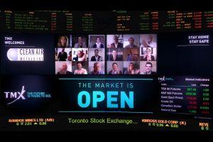 Clean Air Metals Inc. ouvre virtuellement les marchés
