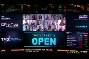 First Trust Portfolios Canada Virtually Opens The Market