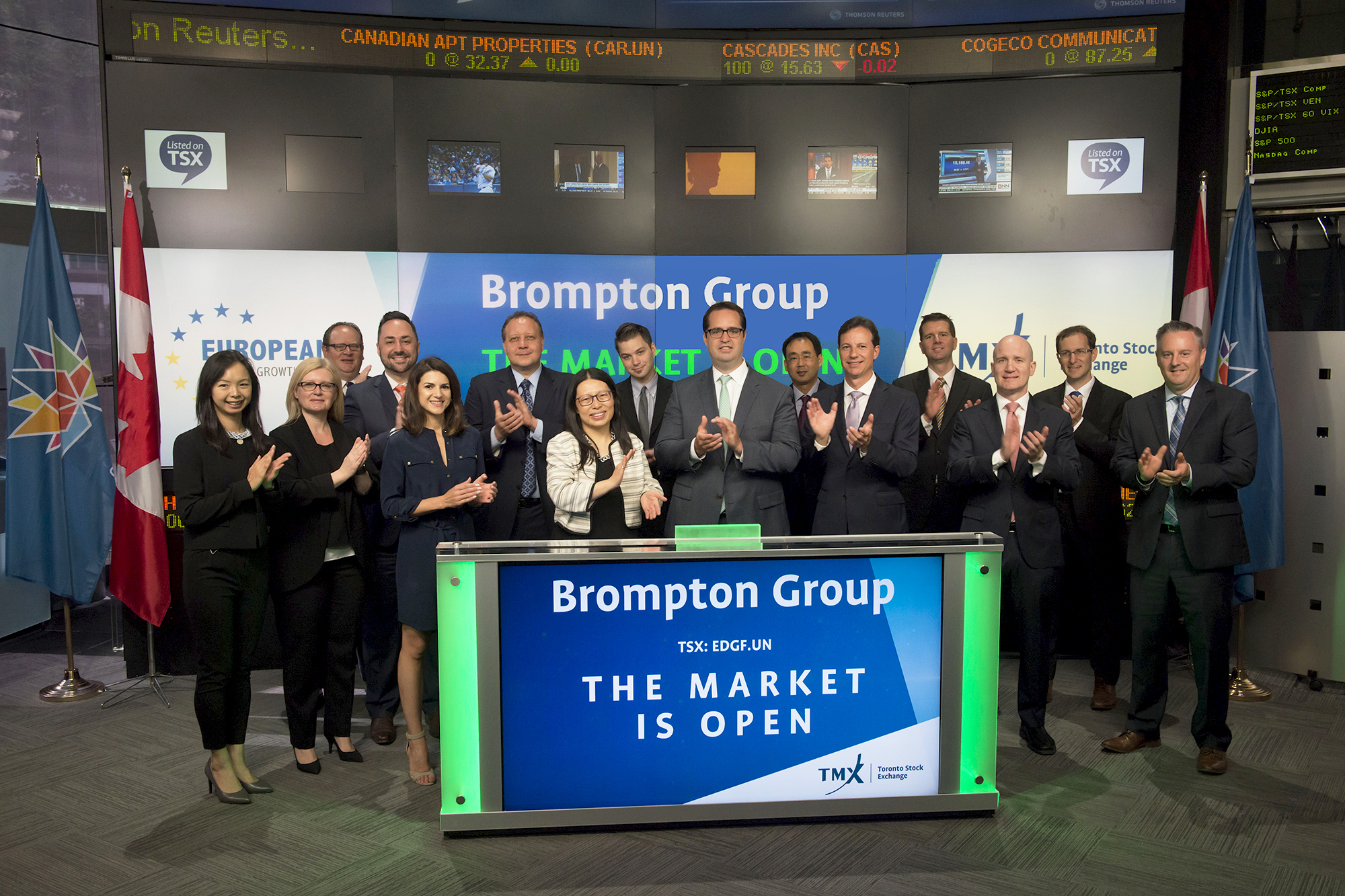 Tmx tsx tsxv news market opens brompton group opens the market biocorpaavc Images