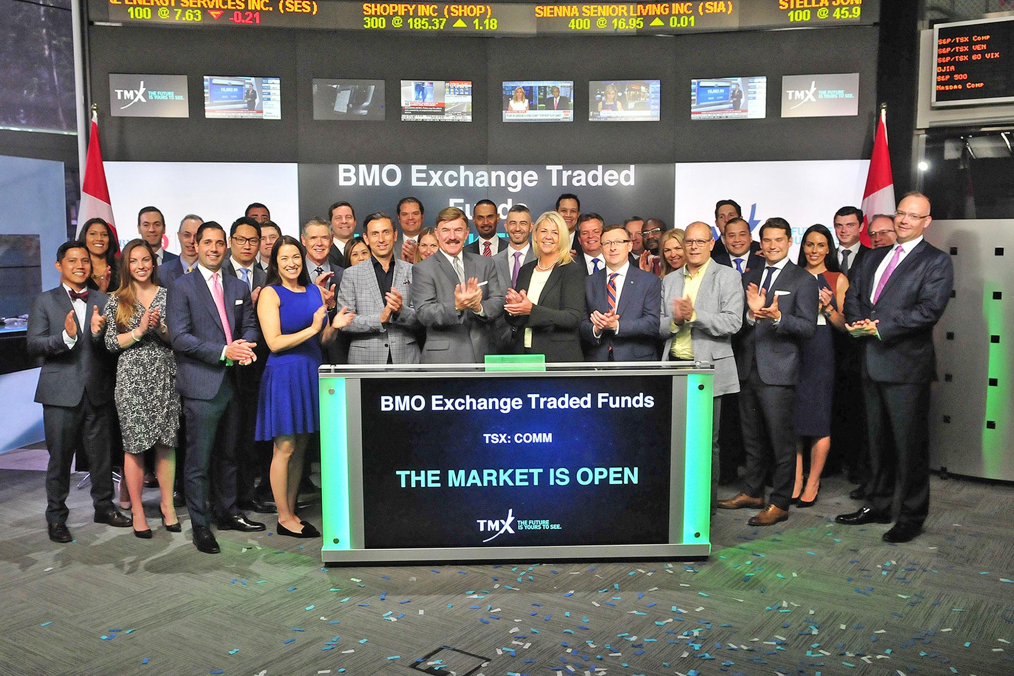 Tmx tsx tsxv news market opens bmo exchange traded funds opens the market publicscrutiny Choice Image