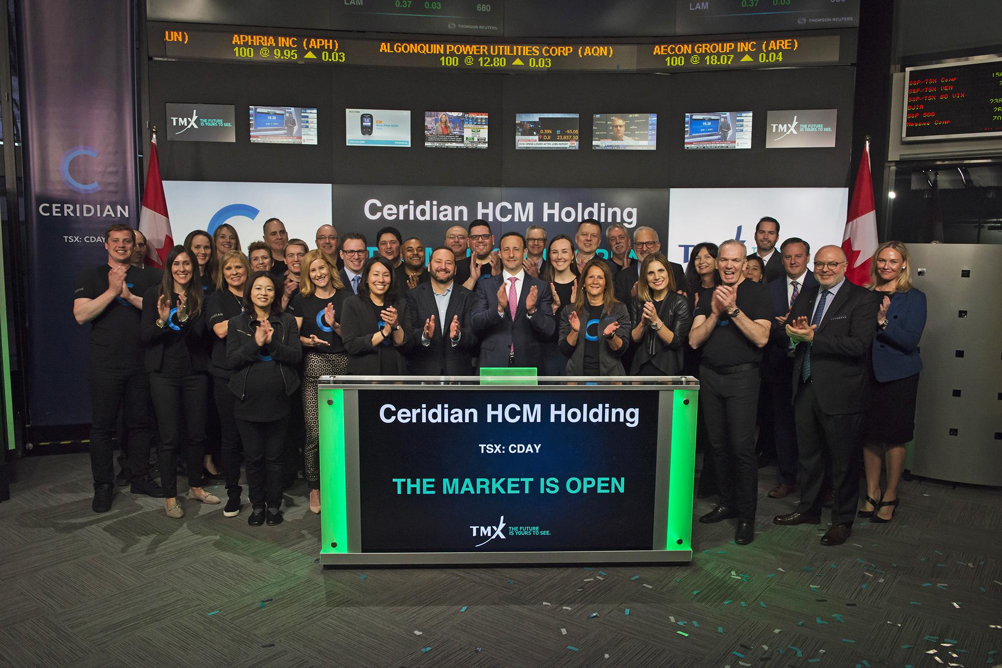 Ceridian HCM Holding Market Open