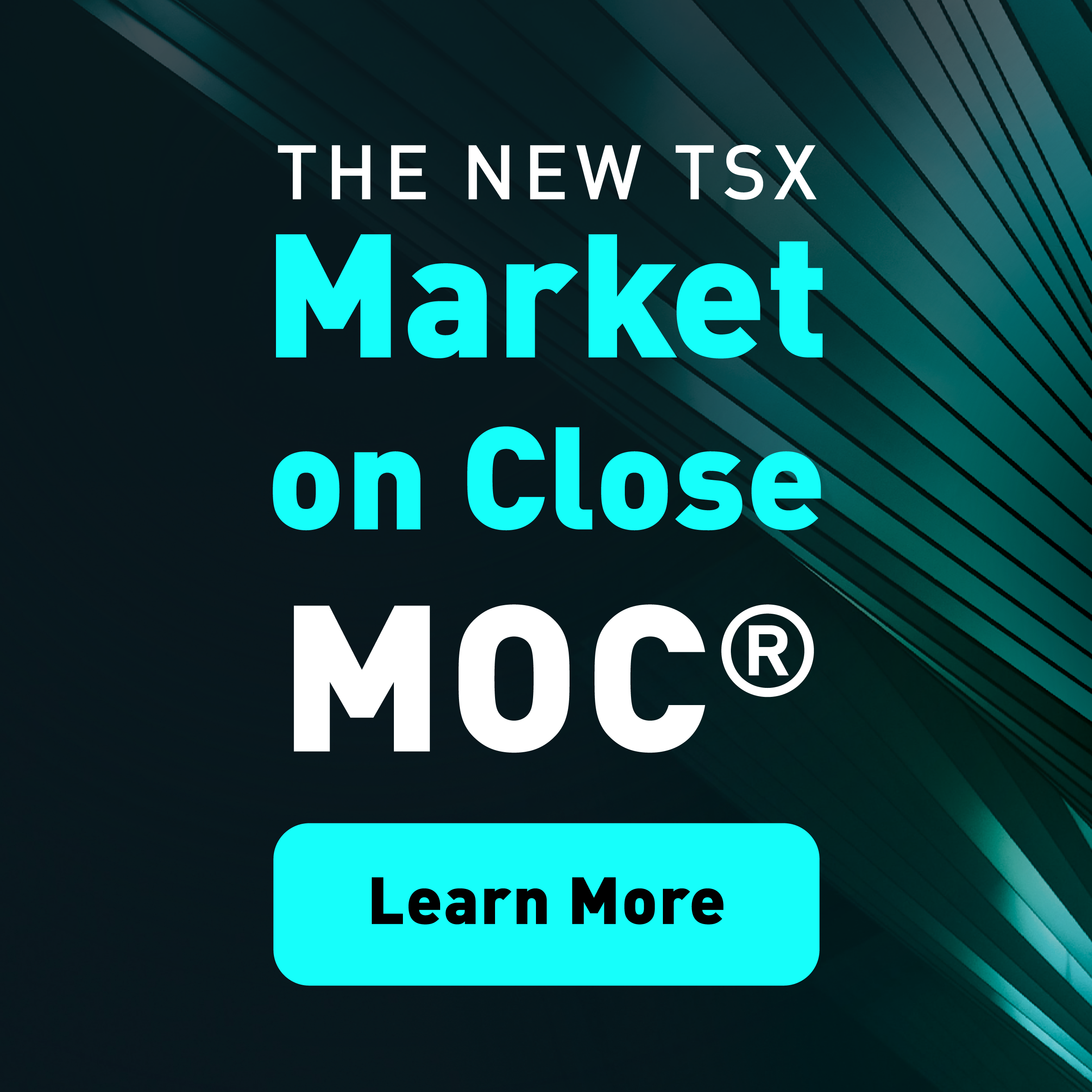 The News TSX Market on Close